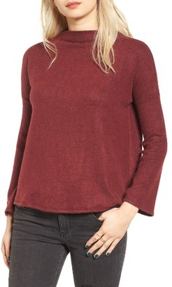 Women's Bp. Fuzzy Knit Pullover $35 thestylecure.com