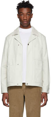 Acne Studios White Omar Jacket
