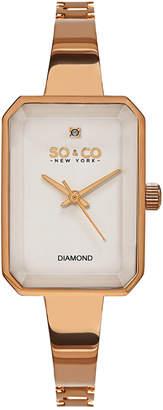 SO & CO So & Co Women's Madison Diamond Watch