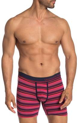 Trunks Unsimply Stitched Stripe Print Boxer Briefs