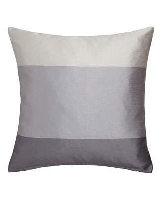 Fashion World Printed Faux Silk Stripe Cushion
