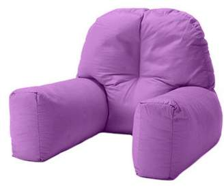 Chloé Changing Sofas Purple Cotton Twill Bean Bag Back Rest Reading Cushion