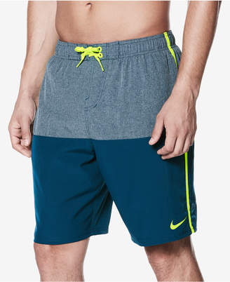 """Nike Men's Colorblocked 9"""" Volley Shorts"""