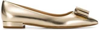 Salvatore Ferragamo Vera bow ballerina shoes