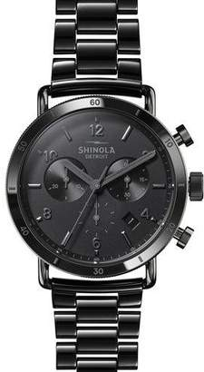 Shinola Men's 40mm Canfield Sport Ceramic Bracelet Watch