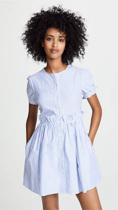 ENGLISH FACTORY Ruffle Detail Dress