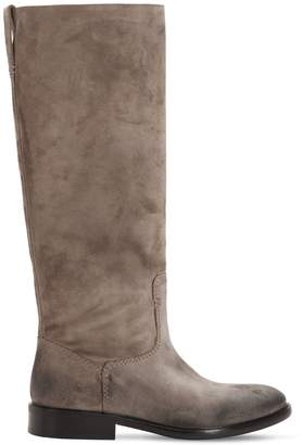 Strategia 20mm Vintage Suede Tall Boots