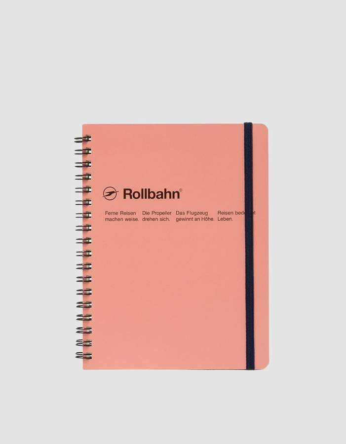 Rollbahn Spiral Notebook Large Size 5.5