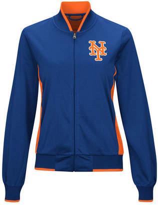 G-iii Sports Women's New York Mets Triple Track Jacket