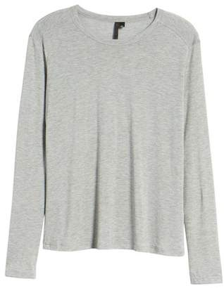 Topshop Lyocell Long Sleeve T-Shirt