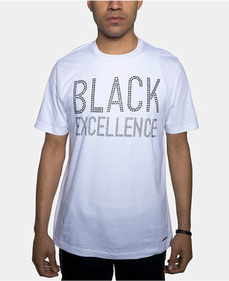 Sean John Men Black Excellence Graphic T-Shirt