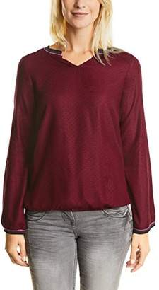 Cecil Women's Solid Structured Blouse