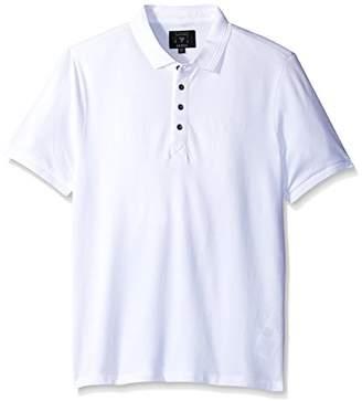 GUESS Men's Riley Pique Polo Shirt