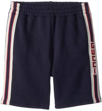 Gucci Kids Short Jogging Pants 497808X9L54 Boy's Casual Pants