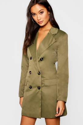 boohoo Utility Blazer Dress