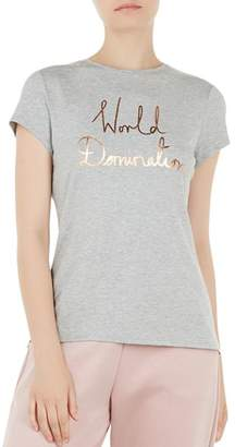 Ted Baker Ted Says Relax Janetia World Domination Tee