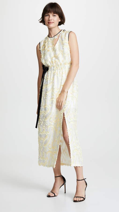 Abstract Paisley Sleeveless Dress