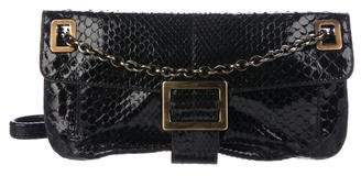 Roger Vivier Python Shoulder Bag
