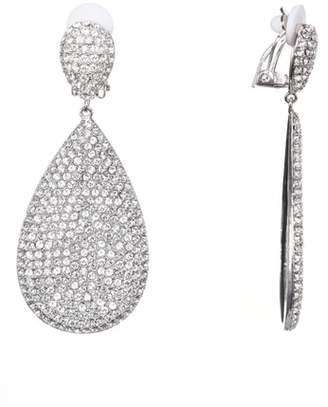 Nina Pave Disc Earrings