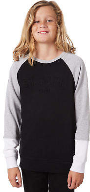 St Goliath New Boys Kids Boys Rick Crew Crew Neck Cotton Soft Black