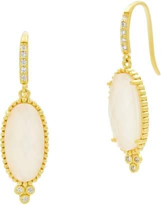 Freida Rothman Color Theory Oval Stone Drop Earrings