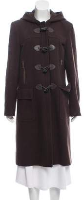 MICHAEL Michael Kors Wool Button-Up Coat