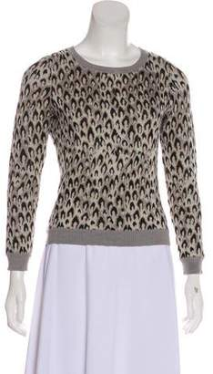 Diane von Furstenberg Wool Long Sleeve Sweater