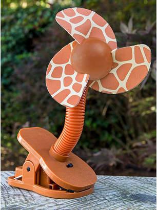 Contribute ジラフ ベビーカー扇風機 クリップオン ファン