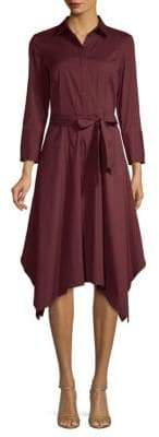 Lafayette 148 New York Moxie Belted Shirtdress