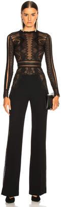 Murad Zuhair Lace Long Sleeve Jumpsuit