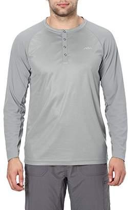 Co Trailside Supply Men's Long Sleeve Henley Shirt 2X-Large