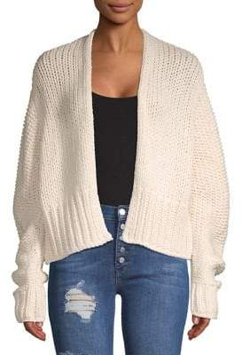 9cdb3f5293 Free People White Open Front Women s Cardigans - ShopStyle