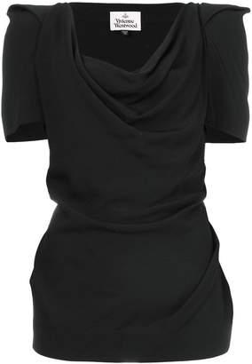 Vivienne Westwood ruched scoop neck T-shirt