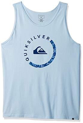 Quiksilver Men's Logo Tank Top Tee Shirt