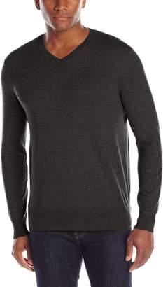 Oxford NY Men's Cotton V-Neck Sweater