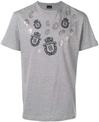 Billionaire printed logo T-shirt