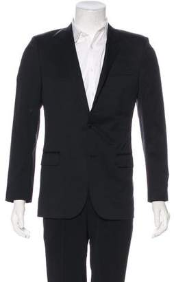 Saint Laurent 2013 Virgin Wool Silk-Lined Blazer