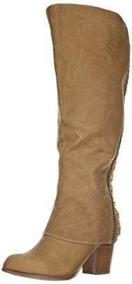 Fergalicious Women's Tender Wide Calf Knee High Boot