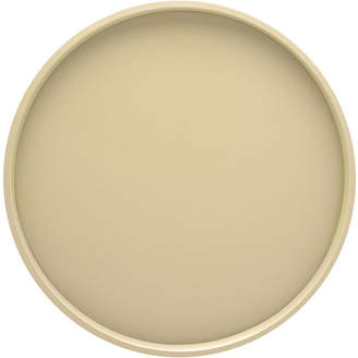 Kraftware Round 14 Serving Tray with Raised Rim