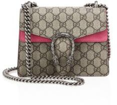 Gucci Dionysus GG Supreme Shoulder Bag $1,590 thestylecure.com