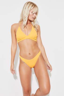 Ardene Ribbed Wrap Bikini Top