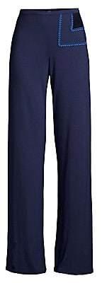 La Perla Women's Long Flare Trousers
