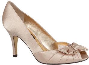 Women's Nina 'Forbes' Peep Toe Pump $84.95 thestylecure.com