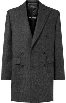 Junya Watanabe Oversized Wool-tweed Coat - Dark gray