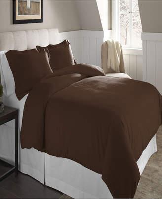 Pointehaven Superior Weight Cotton Flannel Duvet Set Bedding