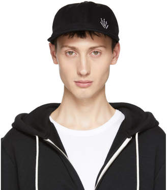 Rag & Bone Black Dylan Baseball Cap