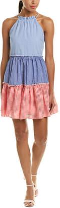 ENGLISH FACTORY Halter A-Line Dress