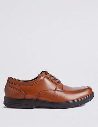 Marks and Spencer Big & Tall Extra Wide Fit Leather Shoes