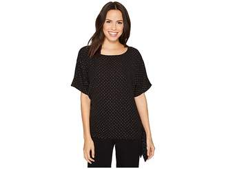 MICHAEL Michael Kors Starbright Tie Top Women's Clothing