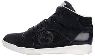 Gucci GG Suede High-Top Sneakers